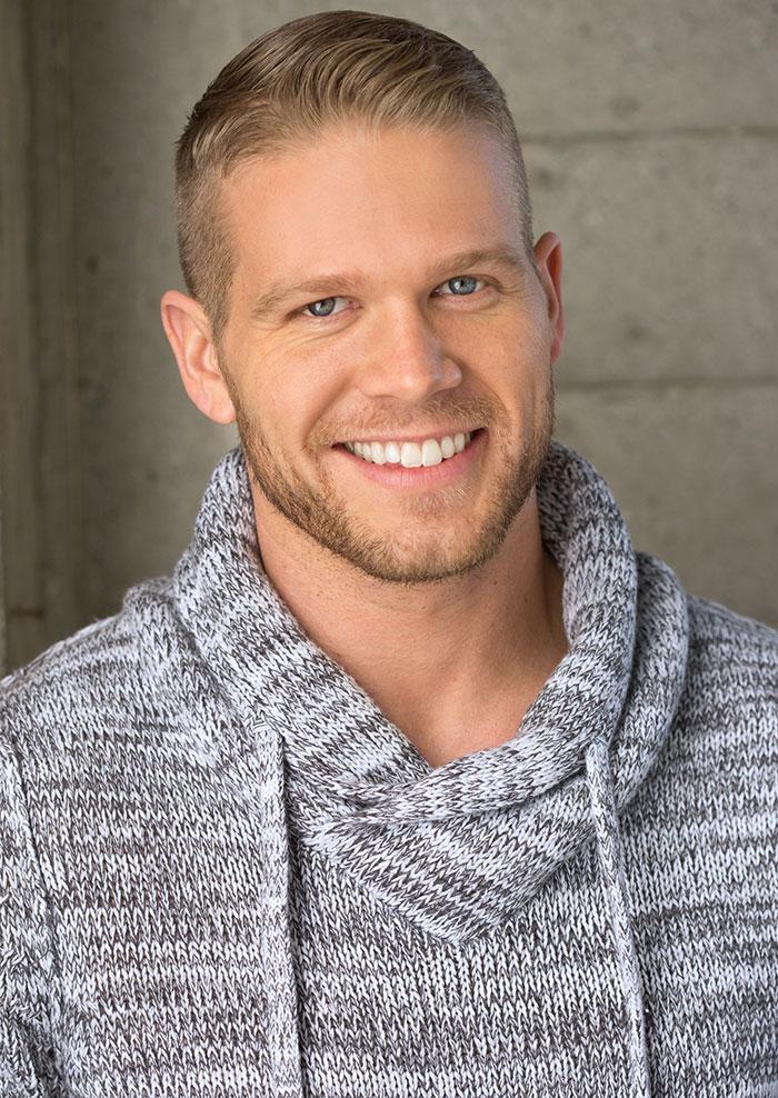 Brand Model And Talent Brett Zimmerman Men